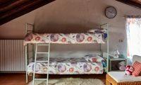 Second floor 4 single beds
