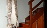 Stairs to attic room